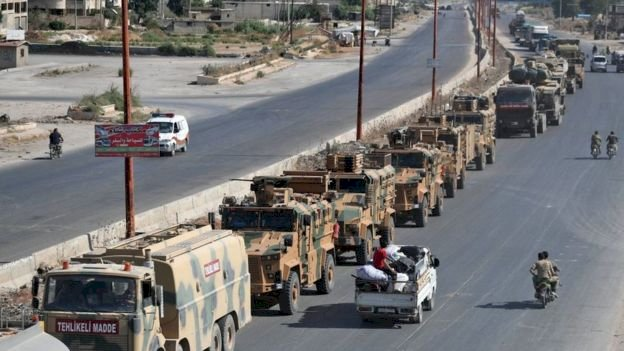 İdlib'de son durum - Han Şeyhun'da silahlı muhaliflerin bir kısmı geri çekiliyor