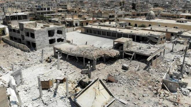 Rusya: ABD'nin İdlib'e saldırması anlaşmalara aykırı, Türkiye'ye ve bize haber verilmedi