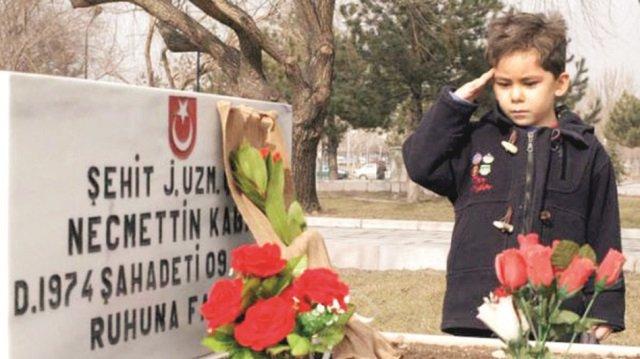 Şehit yakınlarının buluştuğu adres... Sabah Gazetesi - 2003