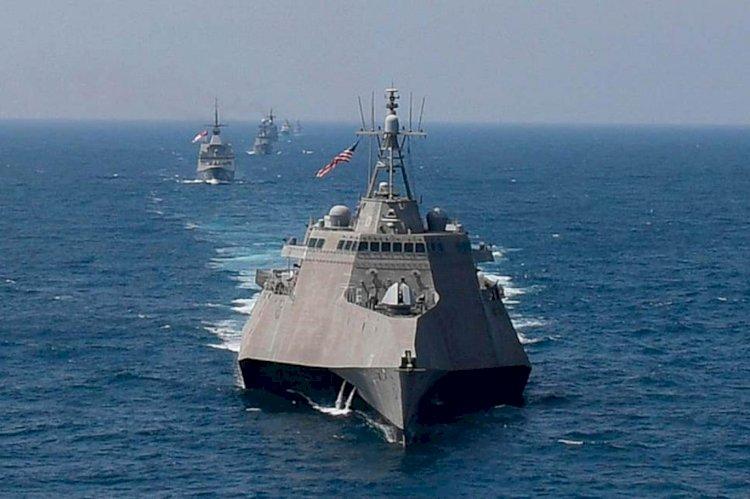 Çin: Britanya ve ABD'nin ihtilaflı sulara gemi göndermesinin ciddi sonuçları olur