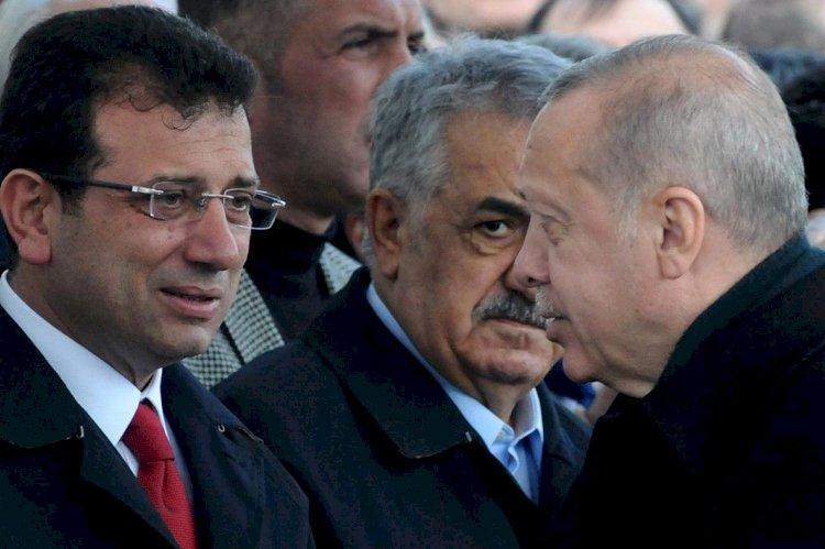 Büyükşehir belediye başkanlarıyla buluşan Erdoğan, İmamoğlu'na mesaj verdi: Üzüntüyle takip ediyoruz