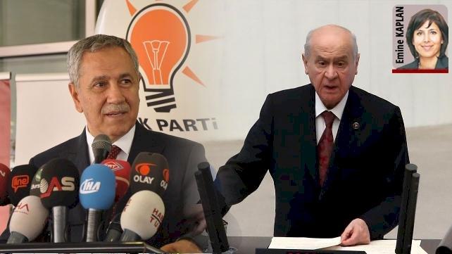 Arınç ve Bahçeli'nin açıklamaları AKP'yi rahatsız etti