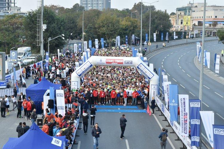 """""""İstanbul'u Koşuyorum"""" etkinlikleri"""