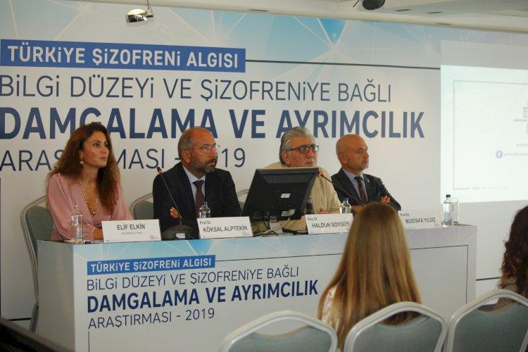 Türkiye'de ilk kez yapılan şizofreni algı araştırmasının sonuçlarını açıkladı
