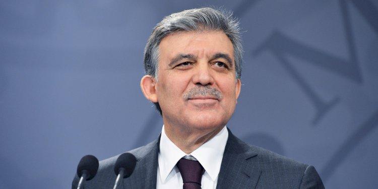 Abdullah Gül'den 'Barış Pınarı Harekatı' açıklaması