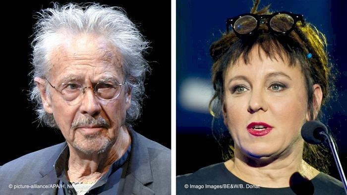 Nobel Edebiyat Ödülü Handke ve Tokarczuk'un oldu
