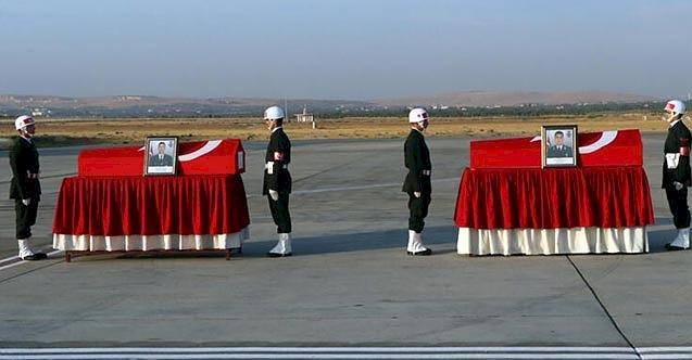 Şehitlerin cenazeleri memleketlerine gönderildi