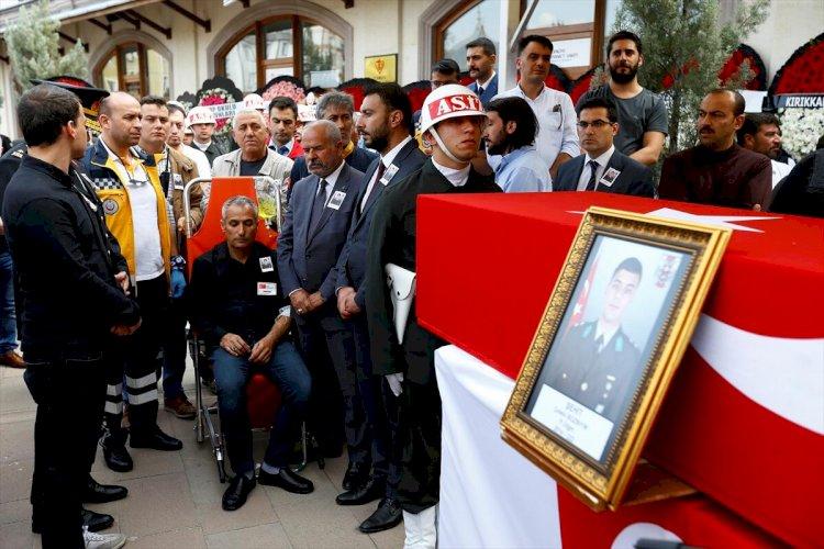 Şehit Üsteğmen Bozbıyık, Kırıkkale'de toprağa verildi