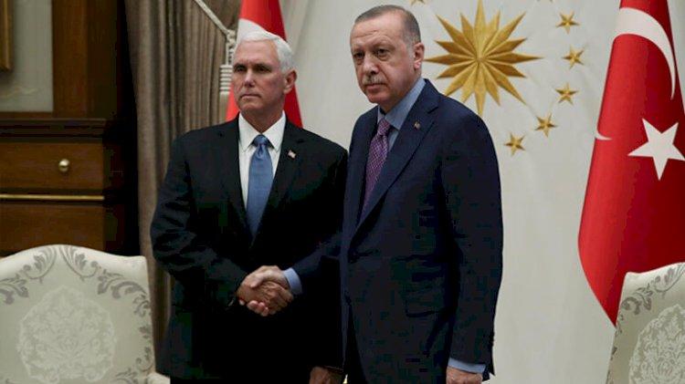 Cumhurbaşkanı Erdoğan'ın, Pence'i kabulü başladı