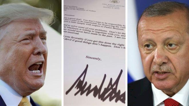 Trump'tan Erdoğan'a mektup
