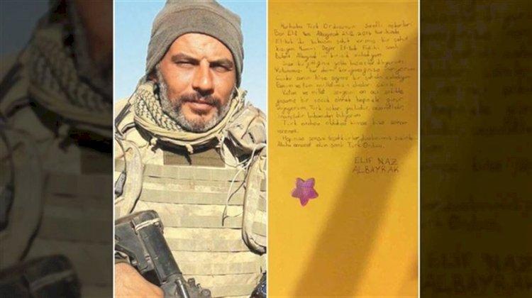 Şehit binbaşının kızından yürek yakan mektup!