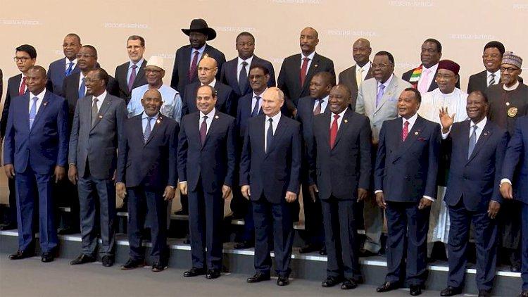 Rusya-Afrika Zirvesi: Moskova Afrika'daki varlığını güçlendirmek istiyor
