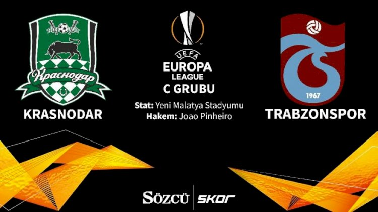 CANLI   Krasnodar 2-0 Trabzonspor