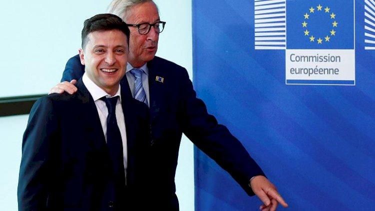 Ukrayna Devlet Başkanı: Hedefimiz AB ve NATO'ya tam üyelik