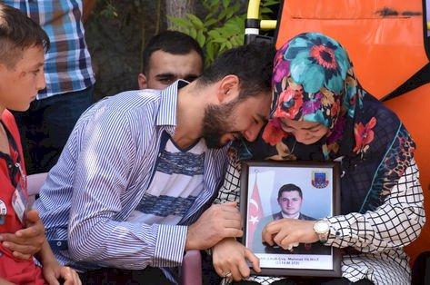 Şehit Astsubay Mehmet Yılmaz son yolculuğuna uğurlandı