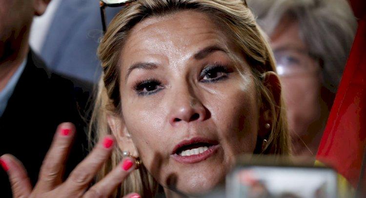 Anez'den Morales'e yargı tehdidi