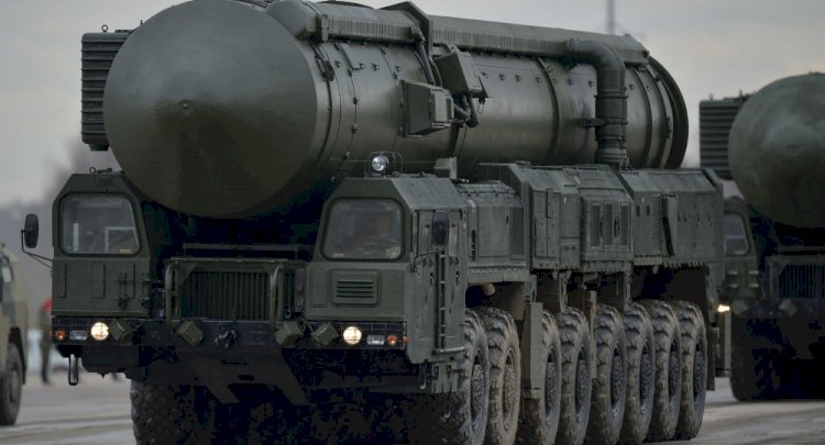 Rusya'da demiryolu tabanlı Yars füzesi geliştirildi