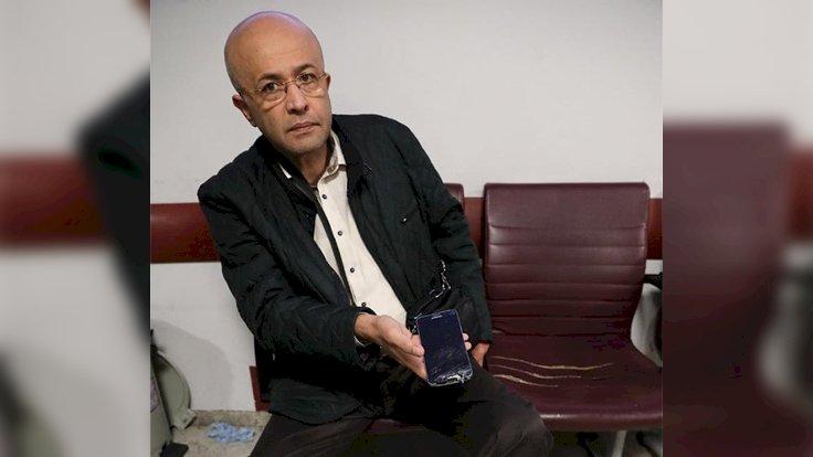 Korkusuz yazarı Ahmet Takan saldırıya uğradı
