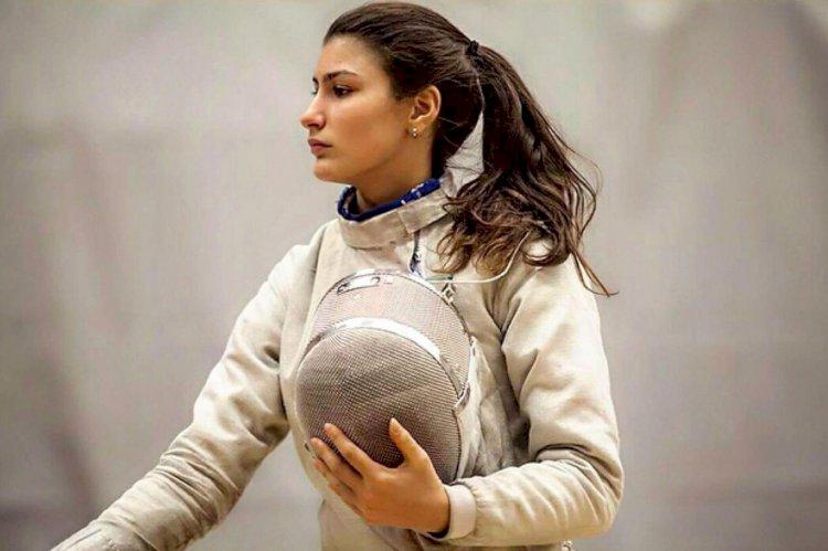 Eskrimin liseli savaşçısı: Nisanur Erbil