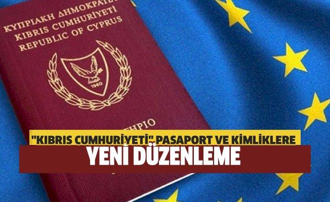 """""""Kıbrıs Cumhuriyeti"""" pasaportları AB standartlarına uyarlanıyor"""