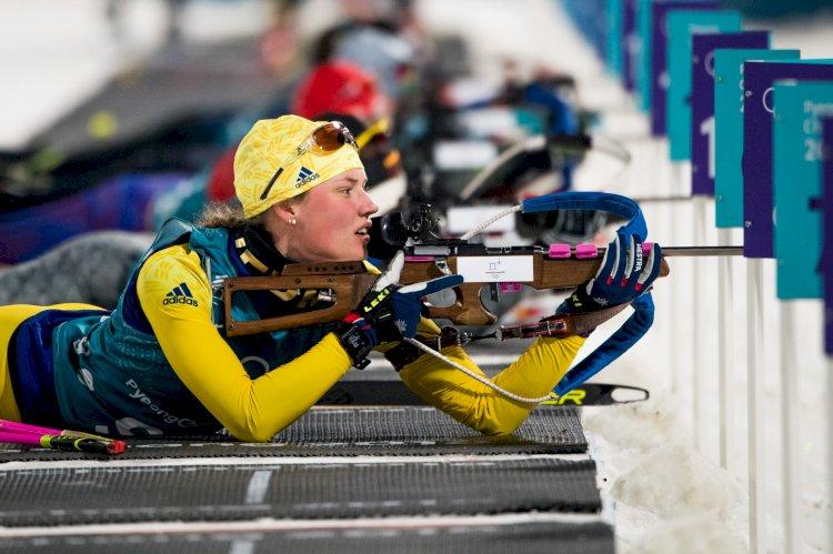 Hanna Öberg, İsveç'in son yıllardaki en başarılı ve en gözde biatletlerinden biri.