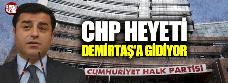 CHP heyeti, Selahattin Demirtaş'a gidiyor