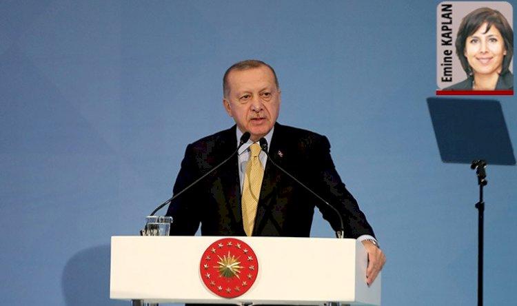 Erdoğan erimeyi durdurmak istiyor