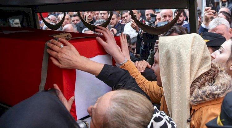 Şehit PAMİT komutanı Esma Çevik son yolculuğuna uğurlandı