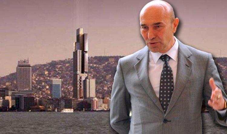 İzmir'in silüetini bozacak gökdelen projesinin durdurulmasına karar verildi