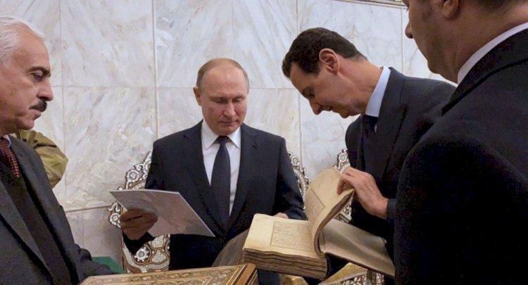 Putin'den Esad'a öneri: Trump'ı Şam'a davet edin