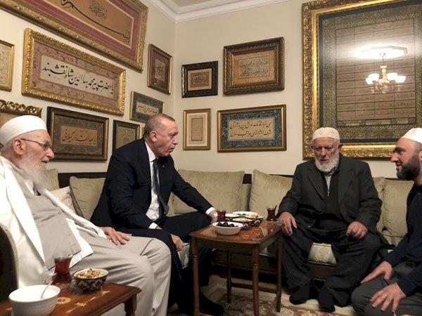 Erdoğan, İsmailağa cemaatinde
