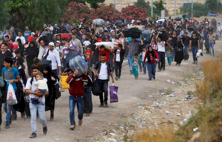 450 bin Suriyeliyi Türkiye'ye sürme operasyonları!