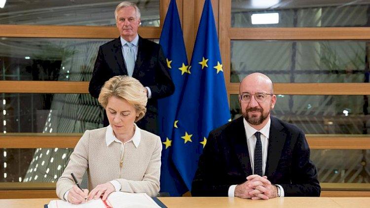 Avrupa Komisyonu ile AB Konseyi Brexit anlaşmasını imzaladı