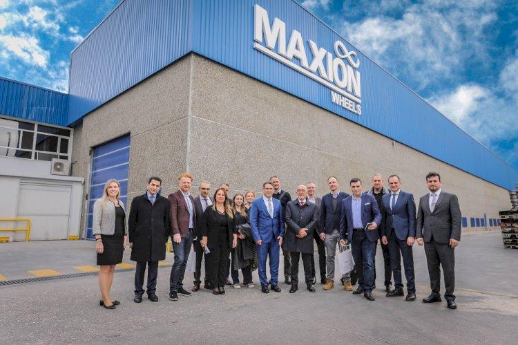 15 kişilik Alman basın heyeti Maxion İnci Jant Grubu'nu ziyaret etti