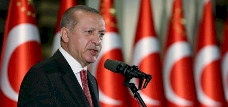 Başkan Erdoğan'dan şehitler için başsağlığı mesajı