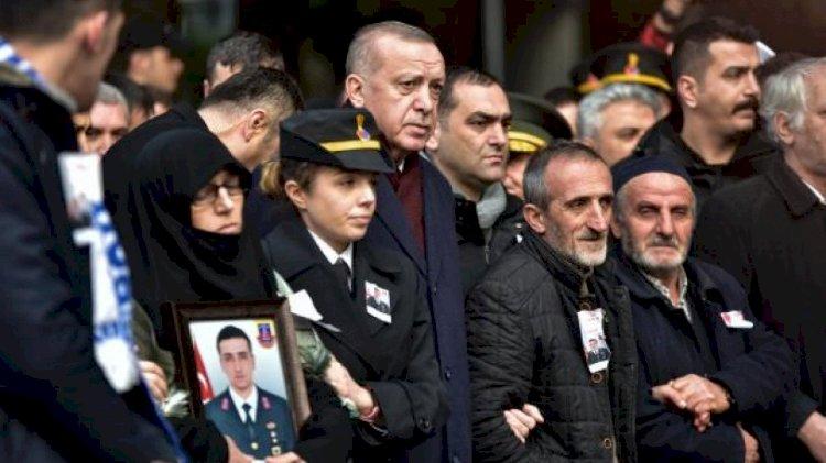 Erdoğan: Şehitler tepesi inşallah boş kalmayacak