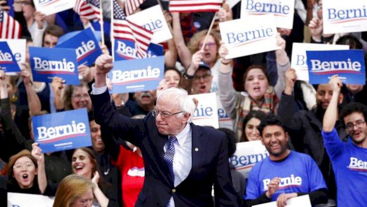 Bernie Sanders: Bu zafer Trump'ın sonunun başlangıcı
