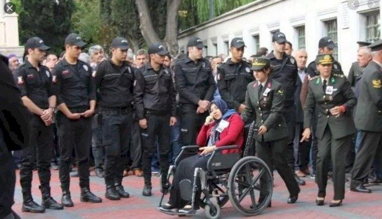Şehit Üsteğmen Murat Ataş'ın eşine  mahkeme kararını verdi