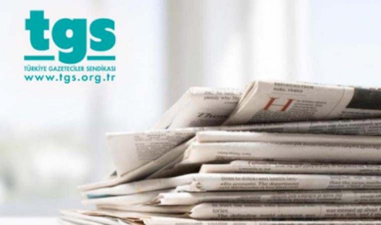 """TGS koronavirüse karşı tutuklu gazetecilere dikkat çekti: """"Acilen tahliye edilmeliler"""""""