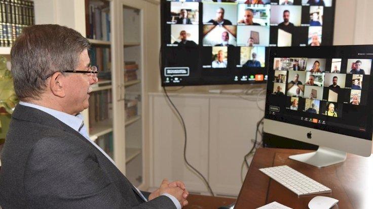 Gelecek Partisi'nden dijital yönetim toplantısı